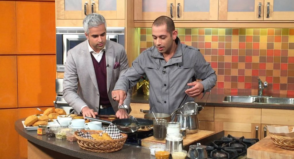 Riaz Meghji & Jamil Mawani Breakfast Television Jambo Grill Puri & Chai (link to video)