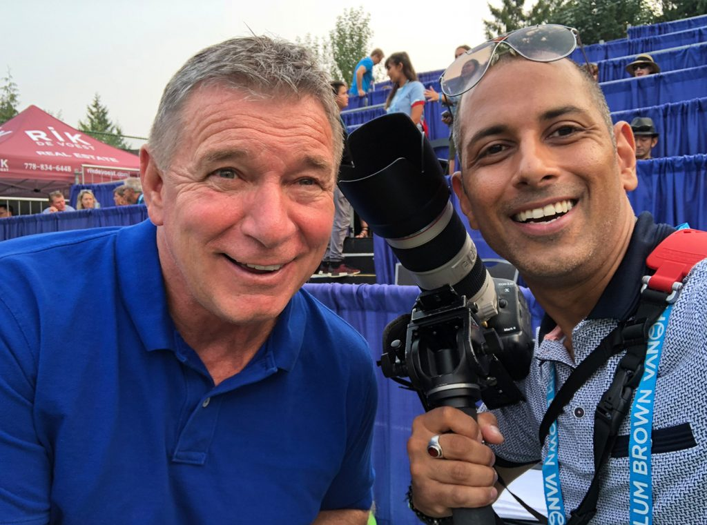 Rick Hansen - Canadian athlete, activist, and philanthropist for people with disabilities